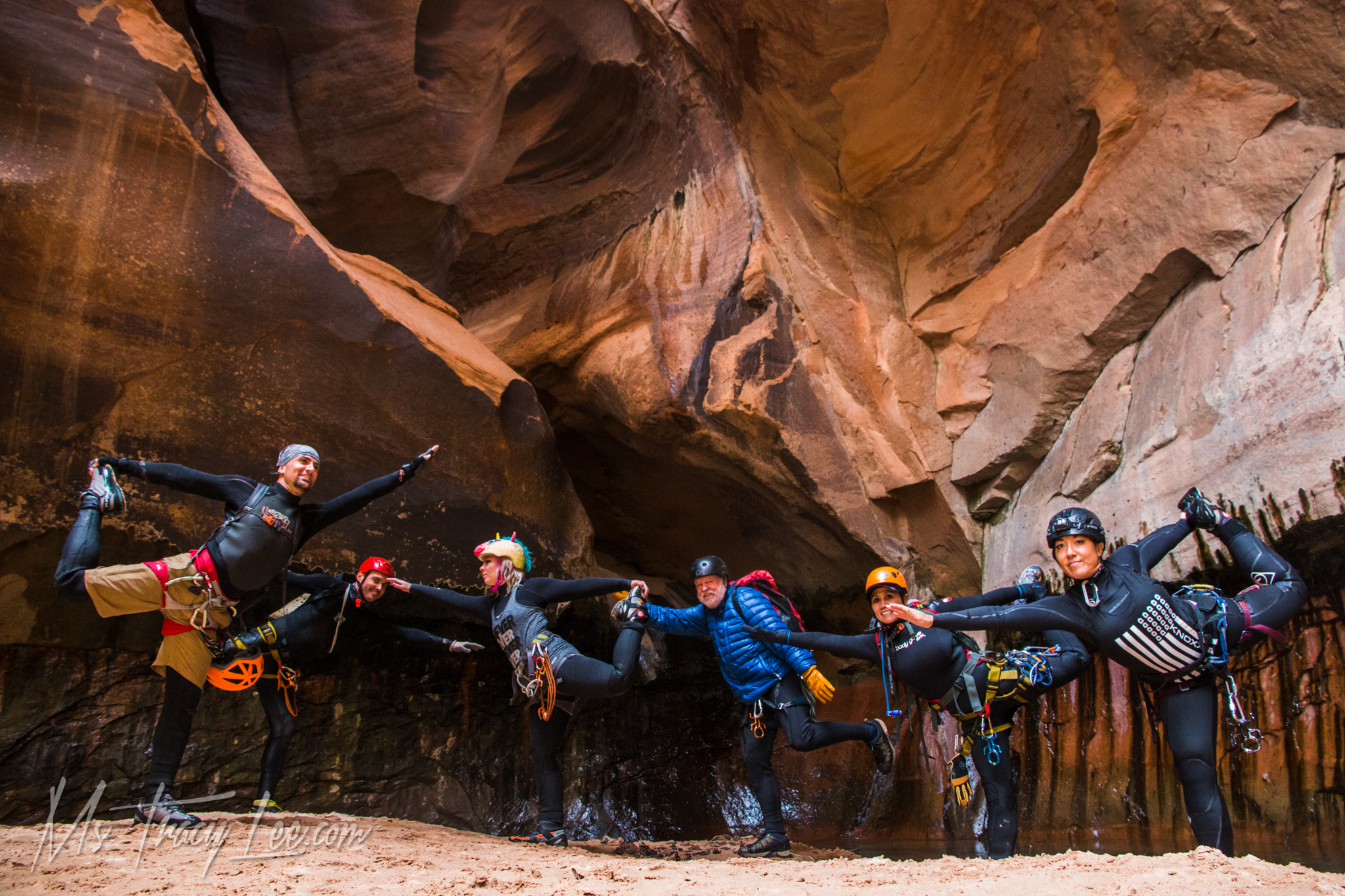 Questionable Weather for Canyoneering Pine Creek and Keyhole Canyon in Zion