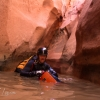 neon-fence-canyon-golden-cathedral-escalante-canyoneering-rappelling-tracy-lee-160