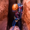 neon-fence-canyon-golden-cathedral-escalante-canyoneering-rappelling-tracy-lee-178