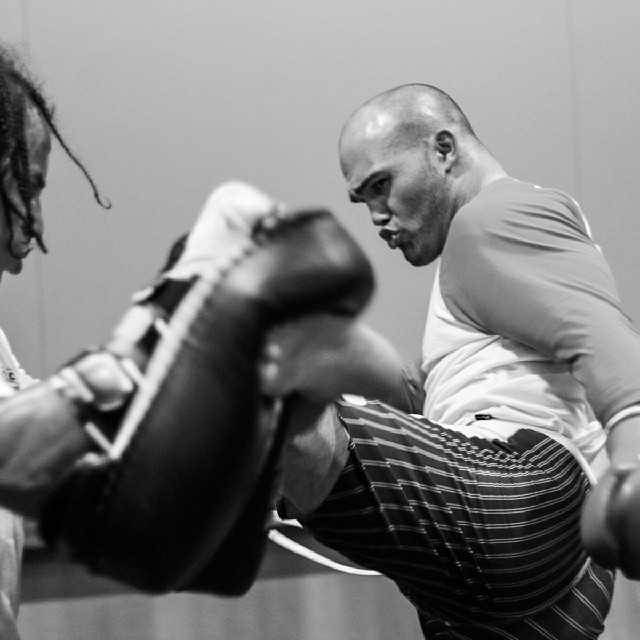 Ruthless Robbie Lawler getting a...