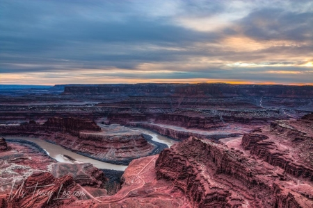 Dead horse point at Sunset...