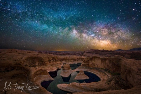 Reflection Canyon.. It was brought...