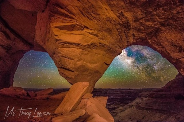 The Astro Eyes of Canyonlands...